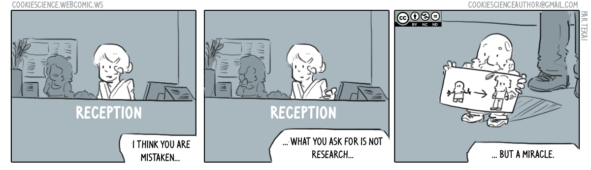 334 - Miracles vs research
