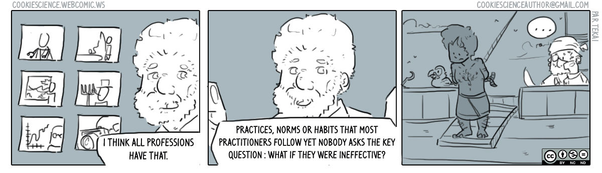 289 - Question your practices