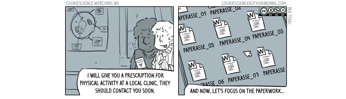 287 - Too much paperwork
