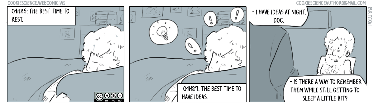 267 - Ideas all day long