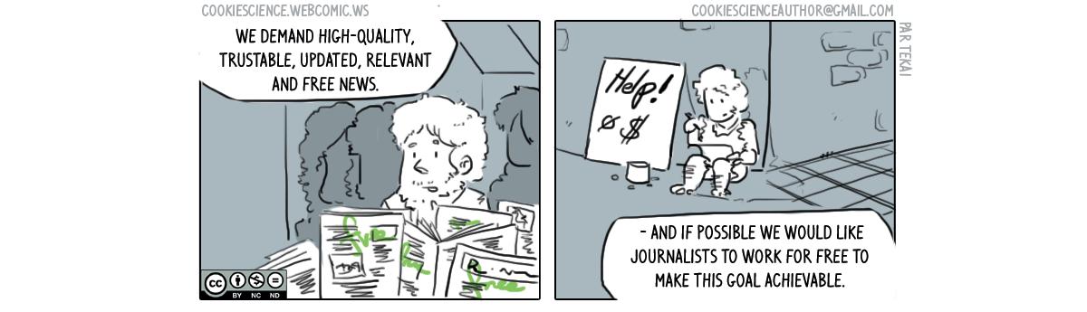 254 - Fee news, high quality news, both?