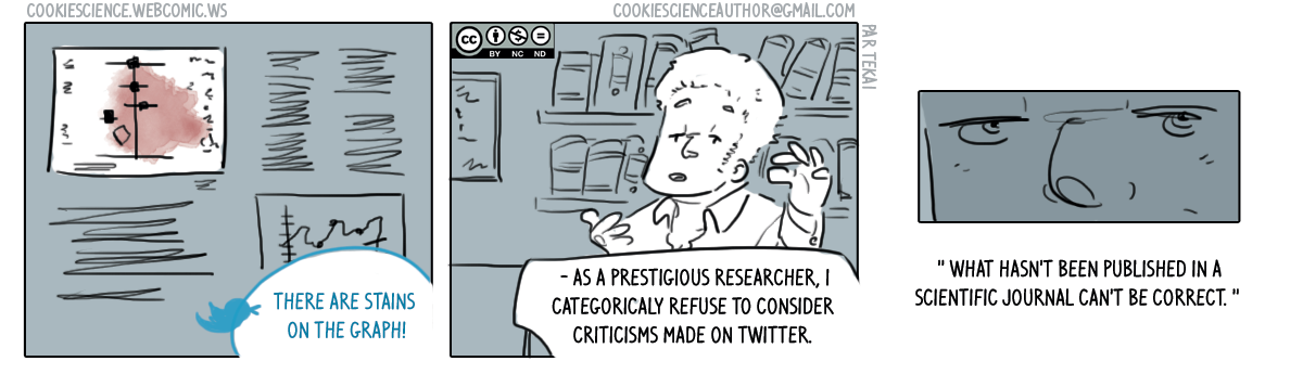 248 - Dismissing criticisms for questionable reasons