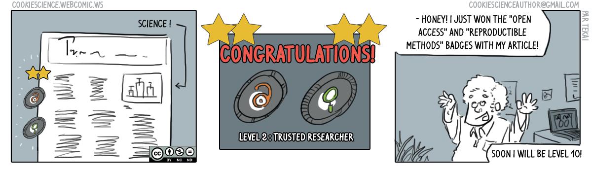 246 - Scientific badges to incentivize productive practices