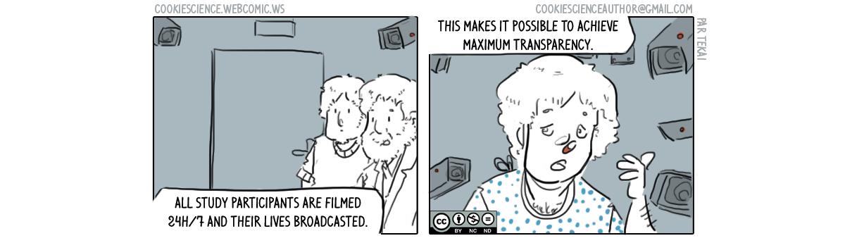 243 - Maximum transparency in research
