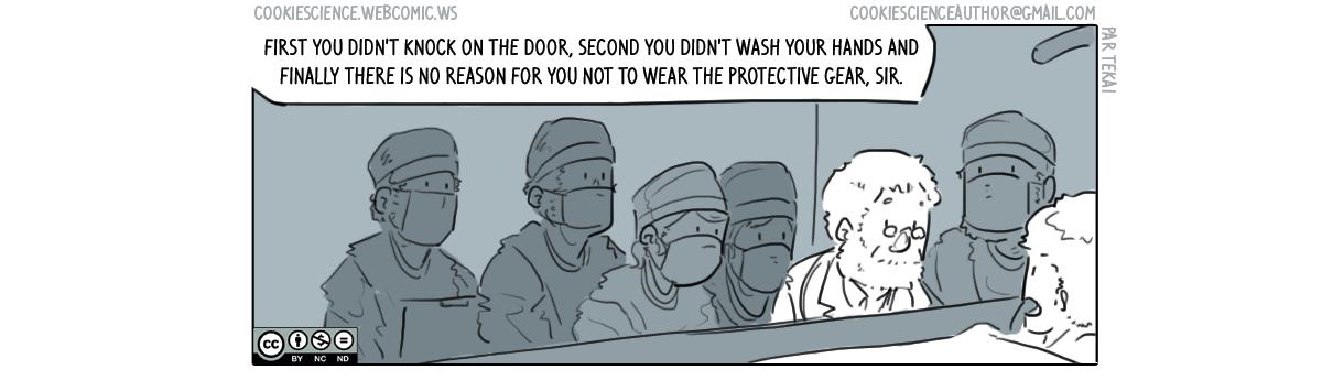 216 - Doctors aren't immune from standards