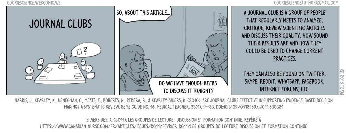 152 - Journal clubs