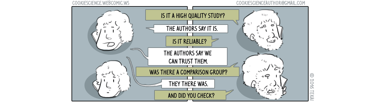 149 - Trusting what the study authors say