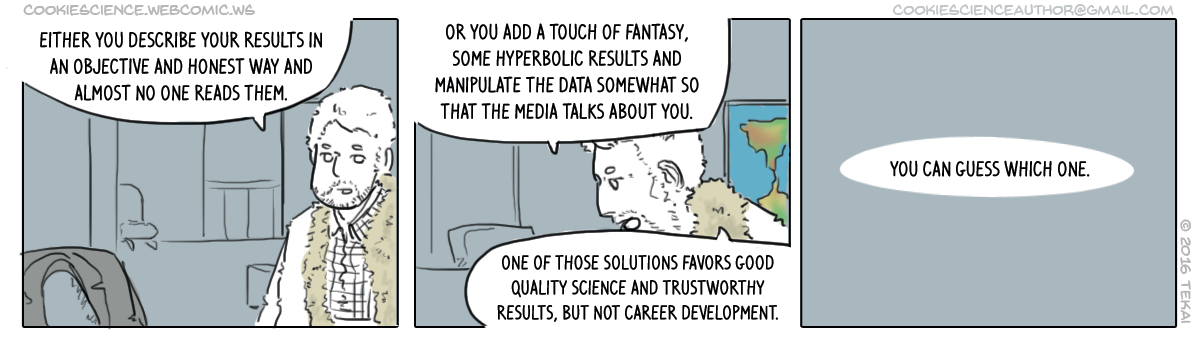 119 - Incentivized to publish fantasy-science