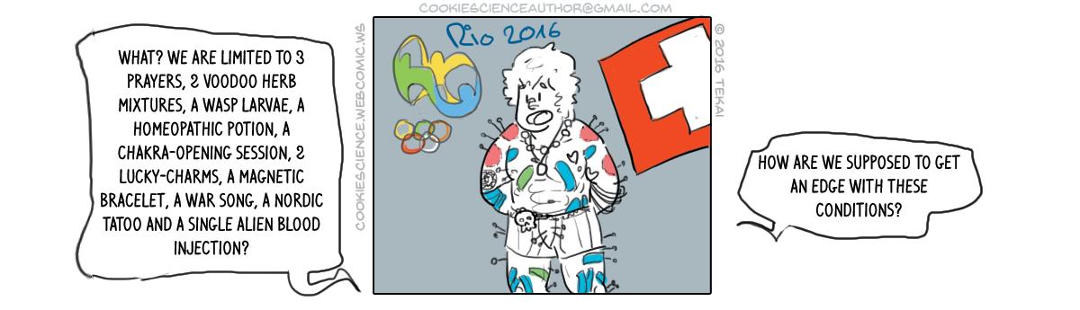 95 - Olympic athletes try everything