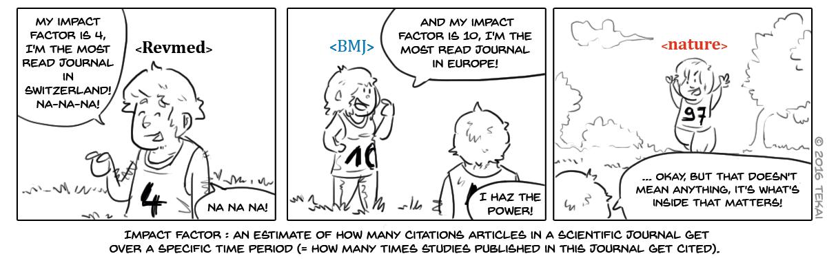 39 - Journal impact factors