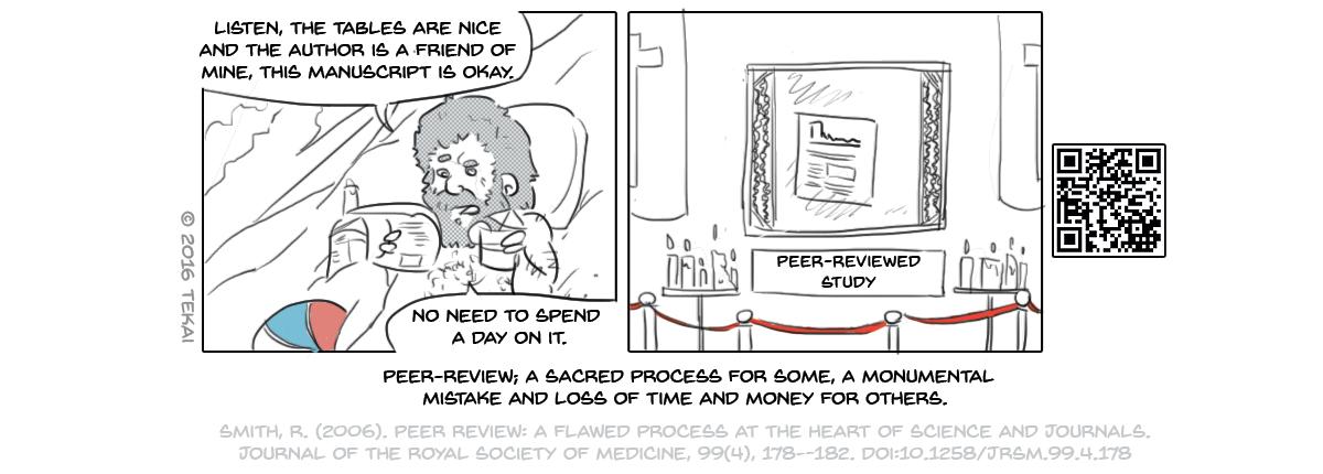34 - Poorly peer-reviewed