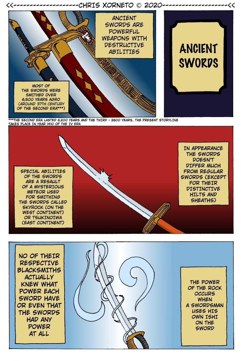 Special Page [024] - Ancient Swords