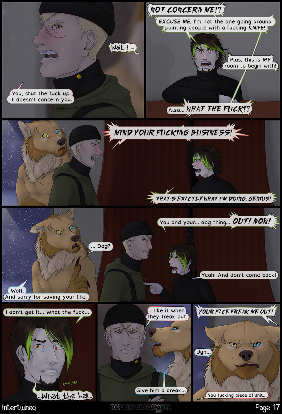 Page 17 - Freaking out.