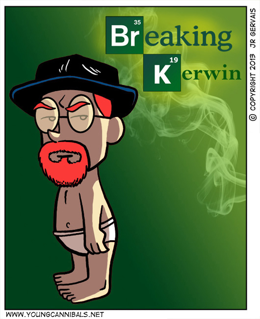 Kerwin as Heisenberg