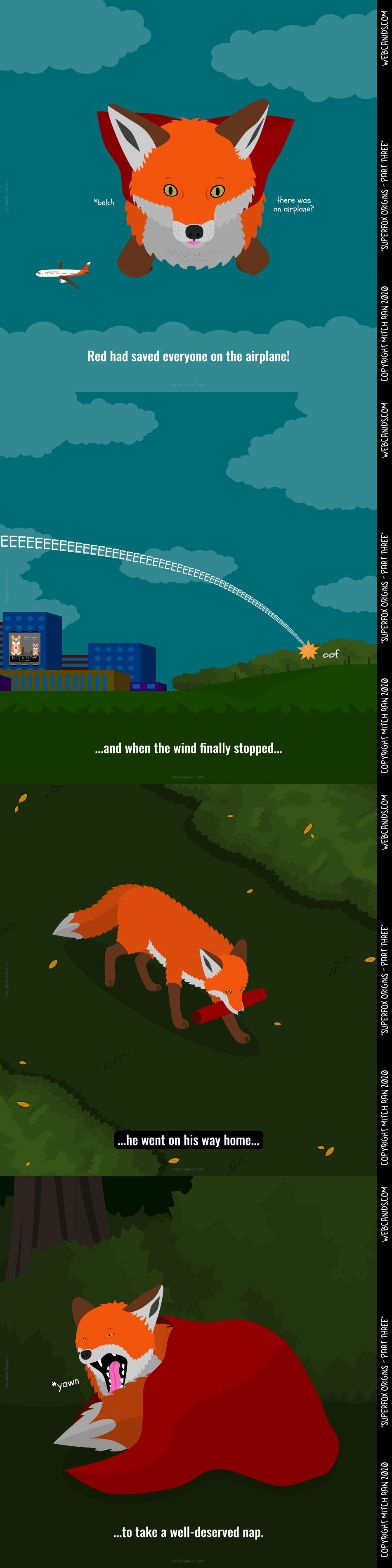 SuperFox Origins - Part Three - End