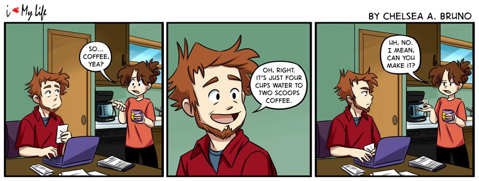 Comic 212: Coffee, Yea?