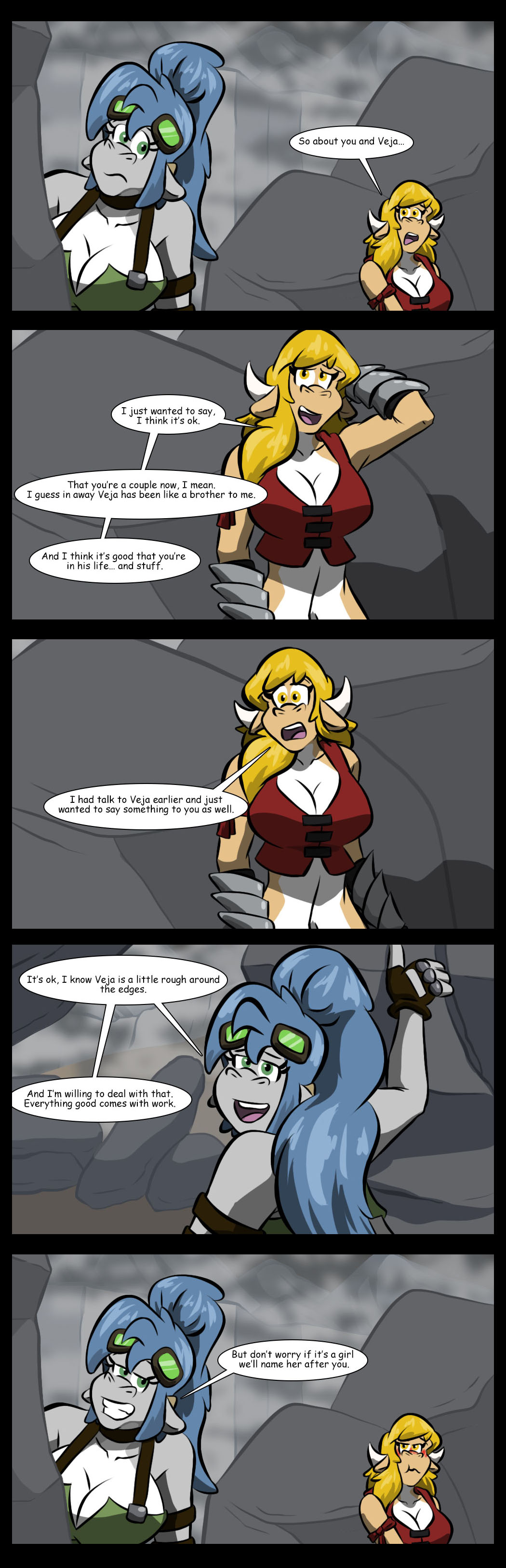 A little rough talk