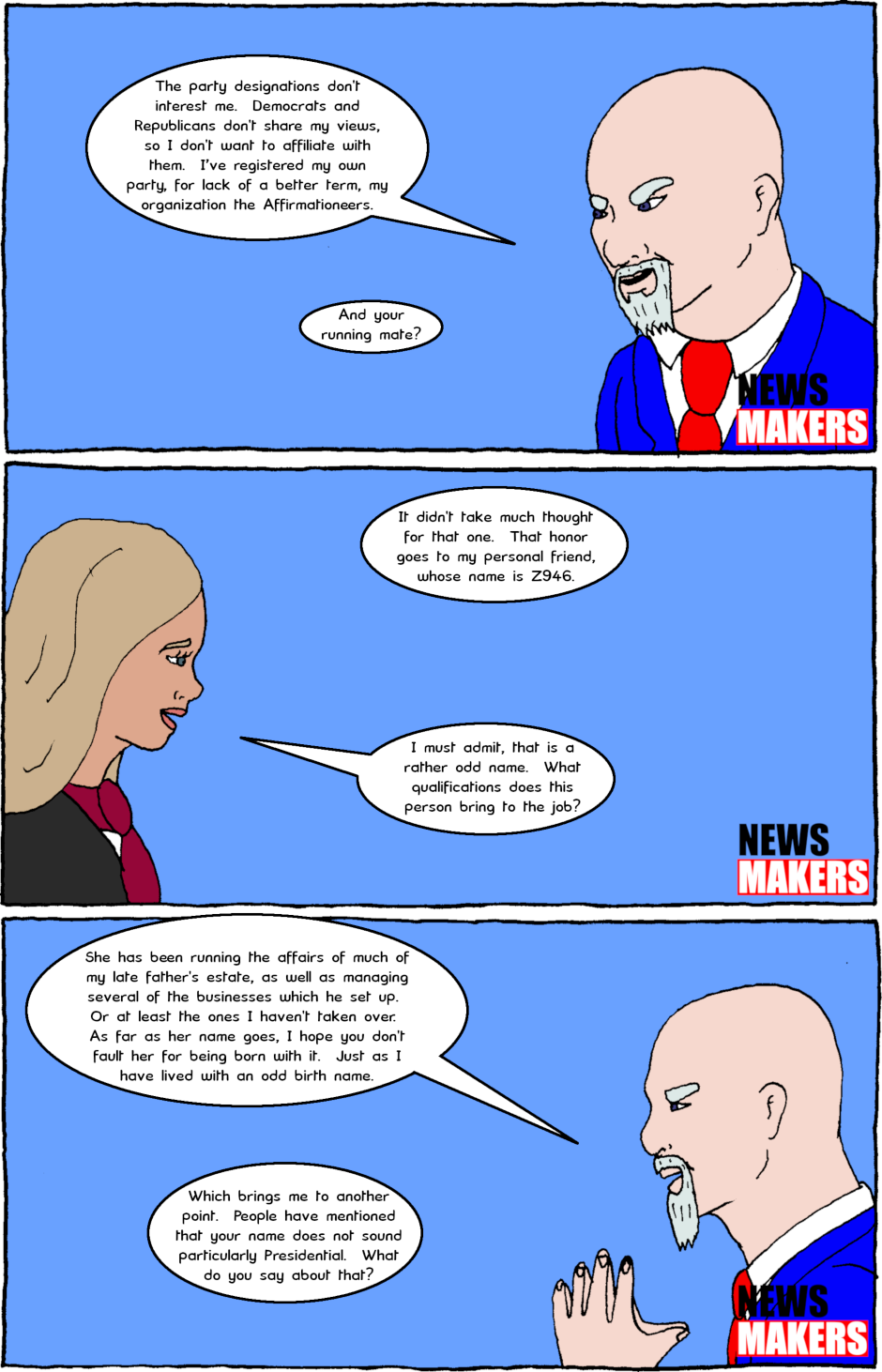 Page 5: issue 26 - Interview with a Candidate