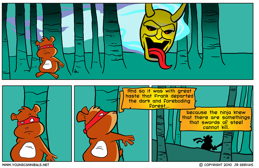 The Haunted Forest, part 3