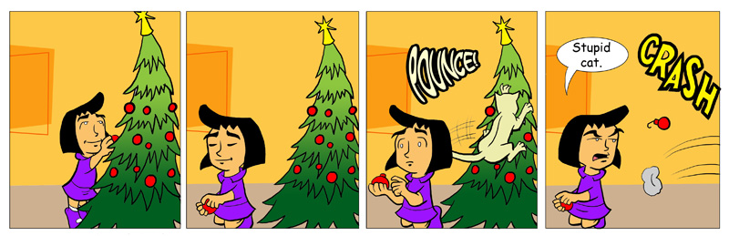 The Trouble With Christmas Trees