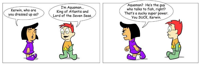 Kerwin as Aquaman