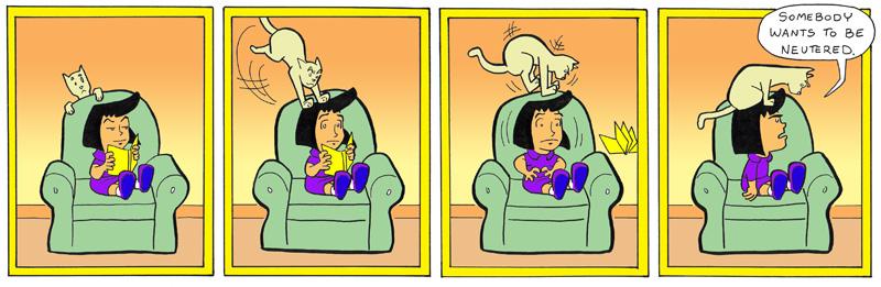 Attack of Psycho Cat