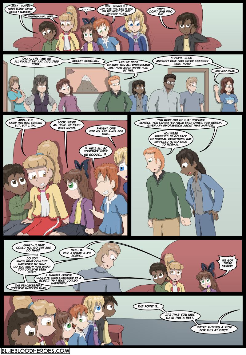 Blue Blazes, Page 2