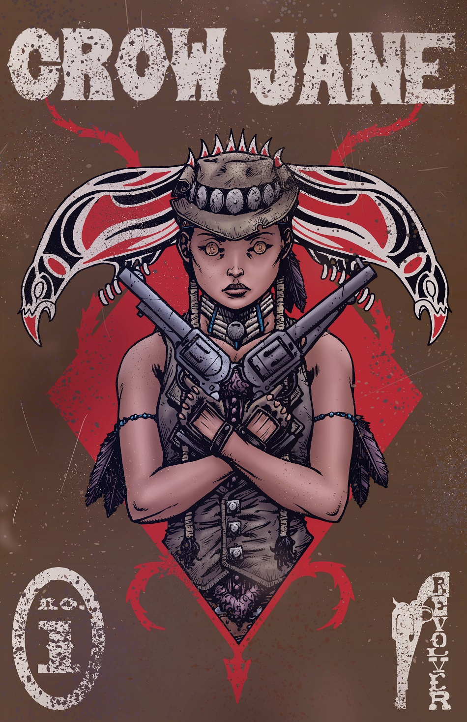 Crow Jane: The Season of Revenge book 1 cover