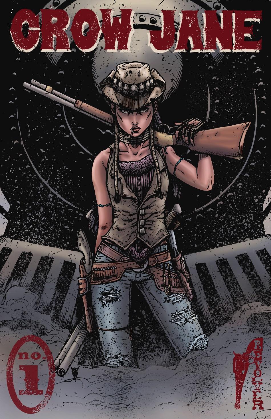Crow Jane: The Season of Revenge book 1 alternate cover