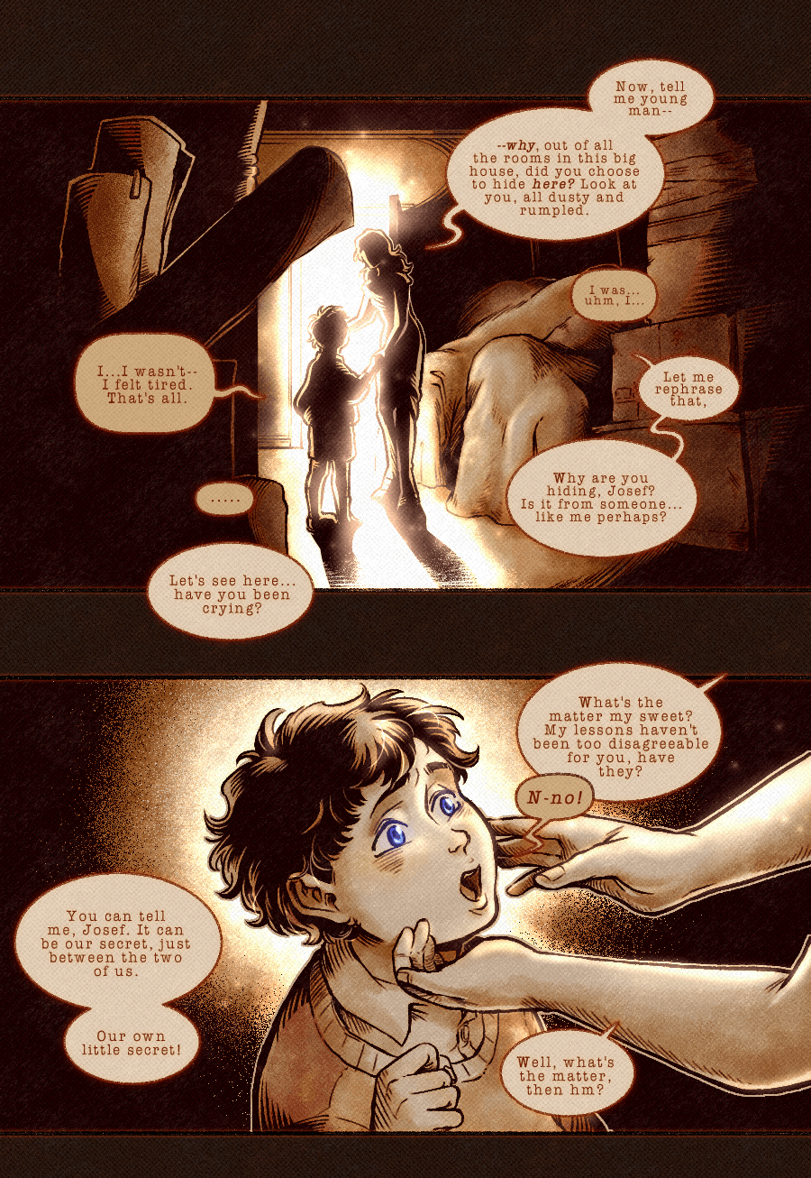 13-114 in which we find (his) comfort pt. 3