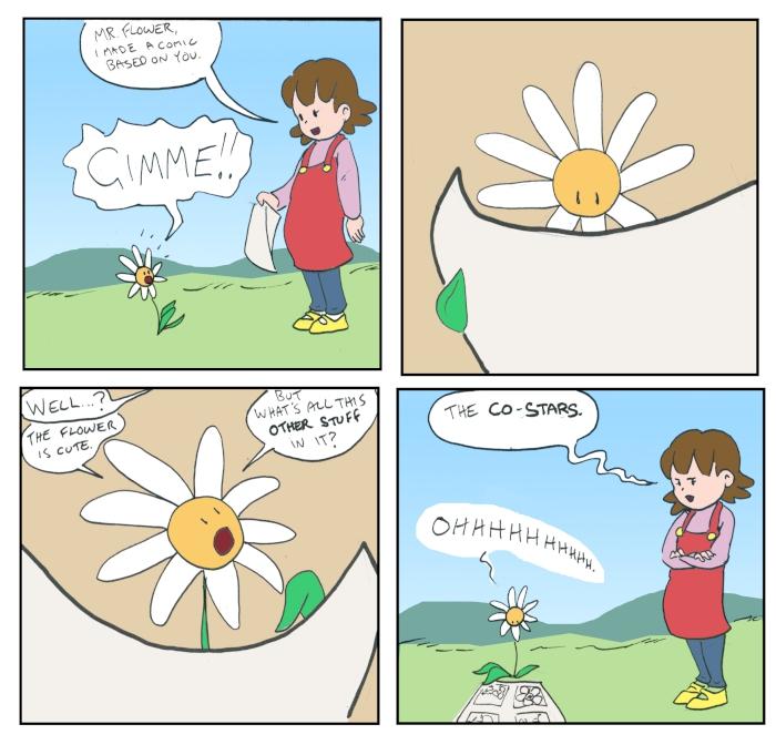 Made a comic
