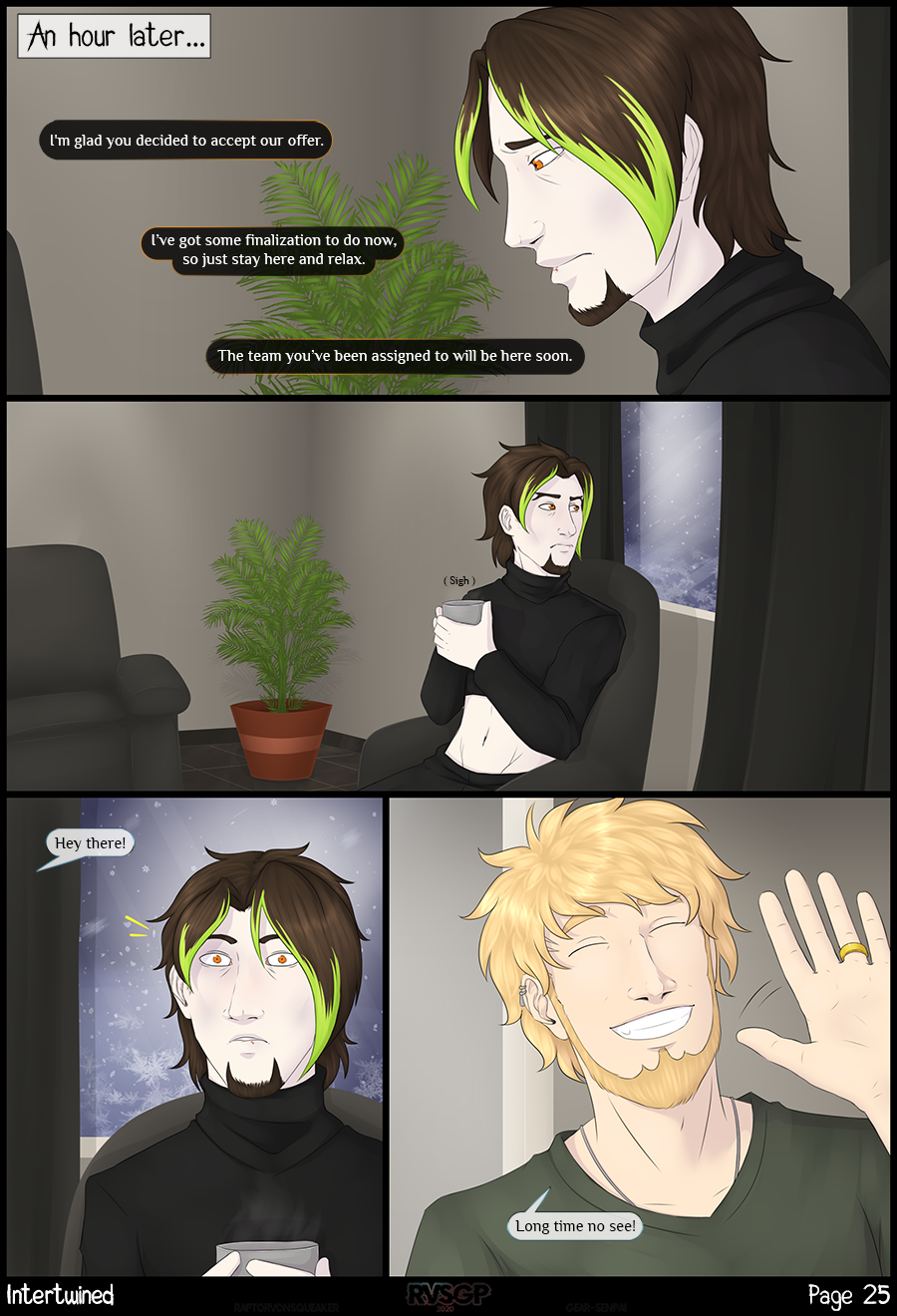 Page 25 - Familiar Face.
