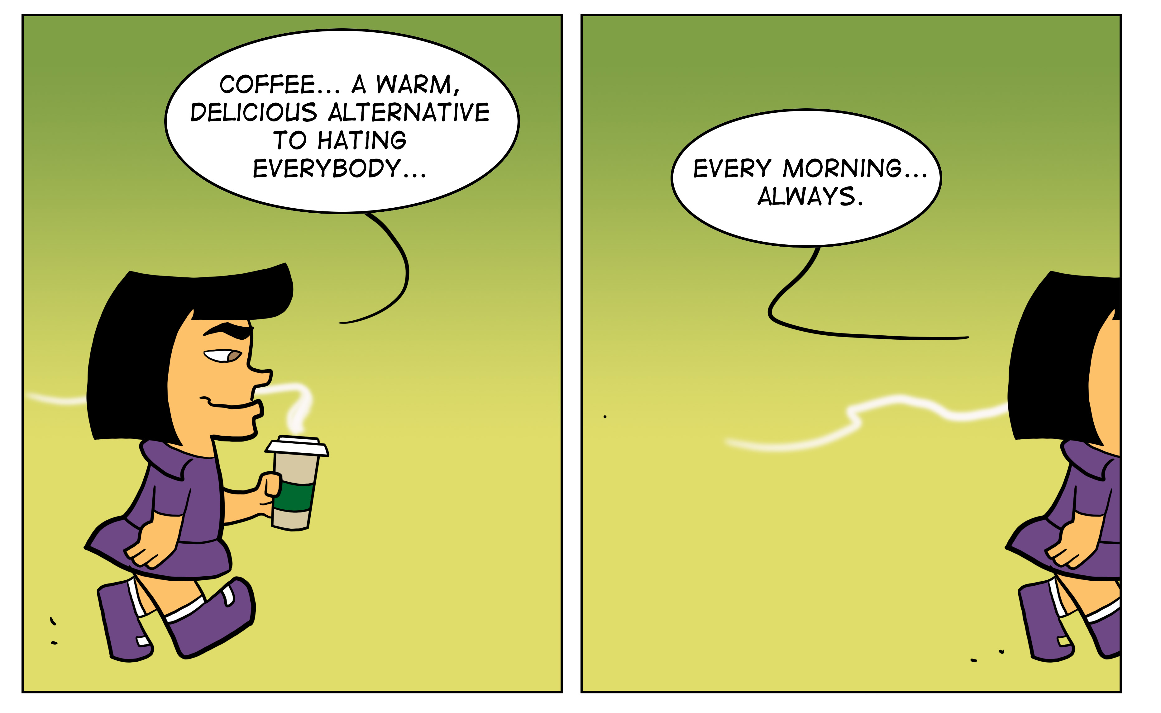 Coffee in the Mornings