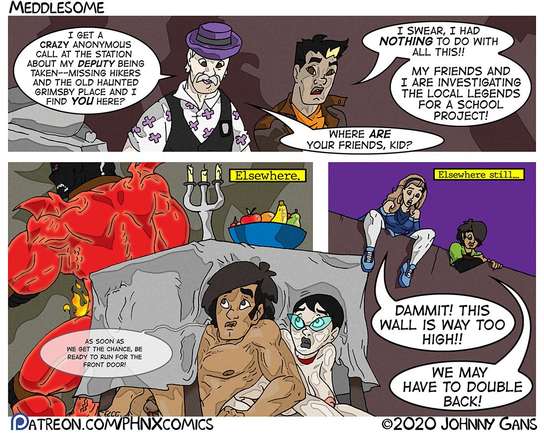 Meddlesome: The Firecrotch Phantom 028