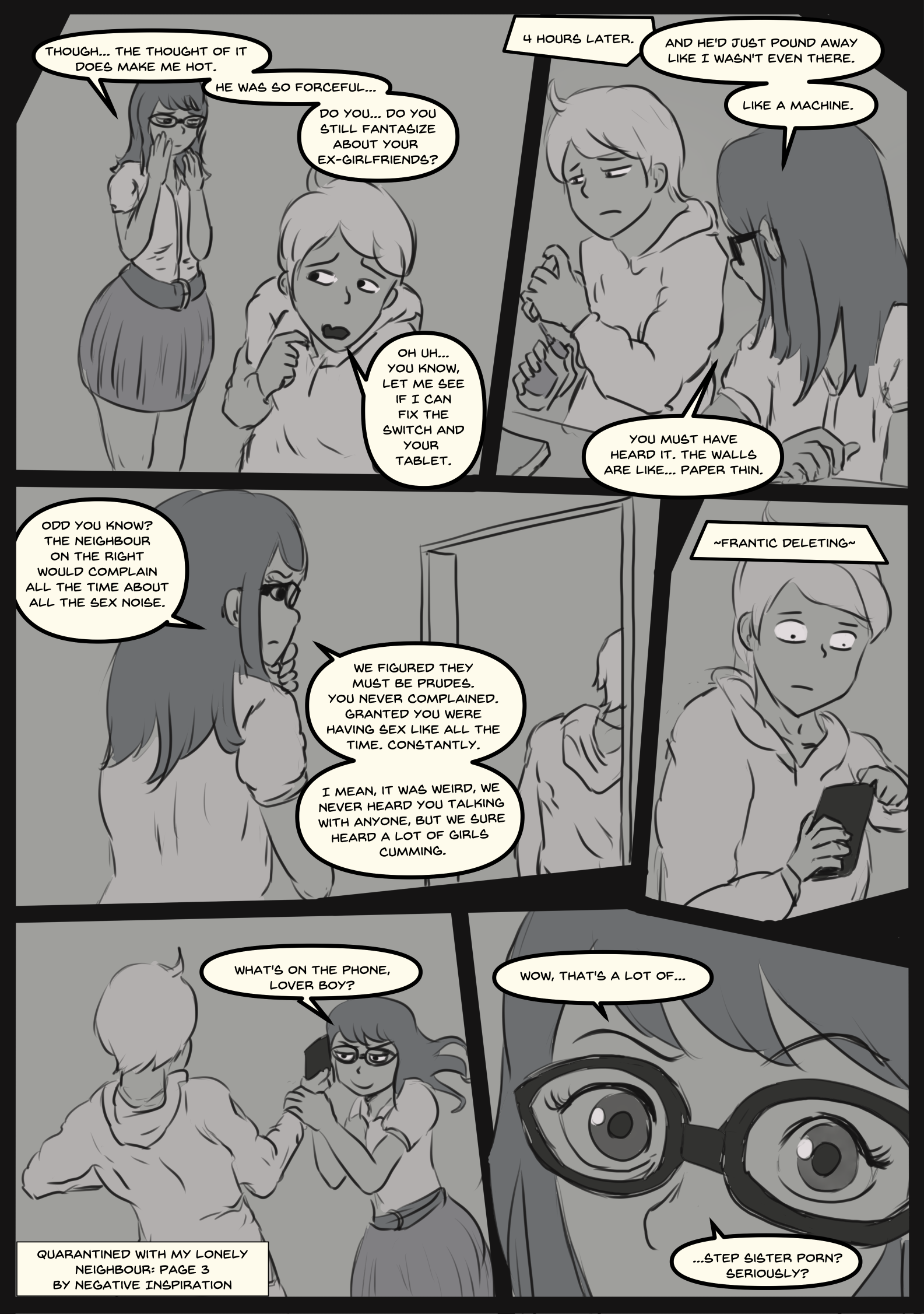Quarantined with my Lonely Neighbour: Page 3