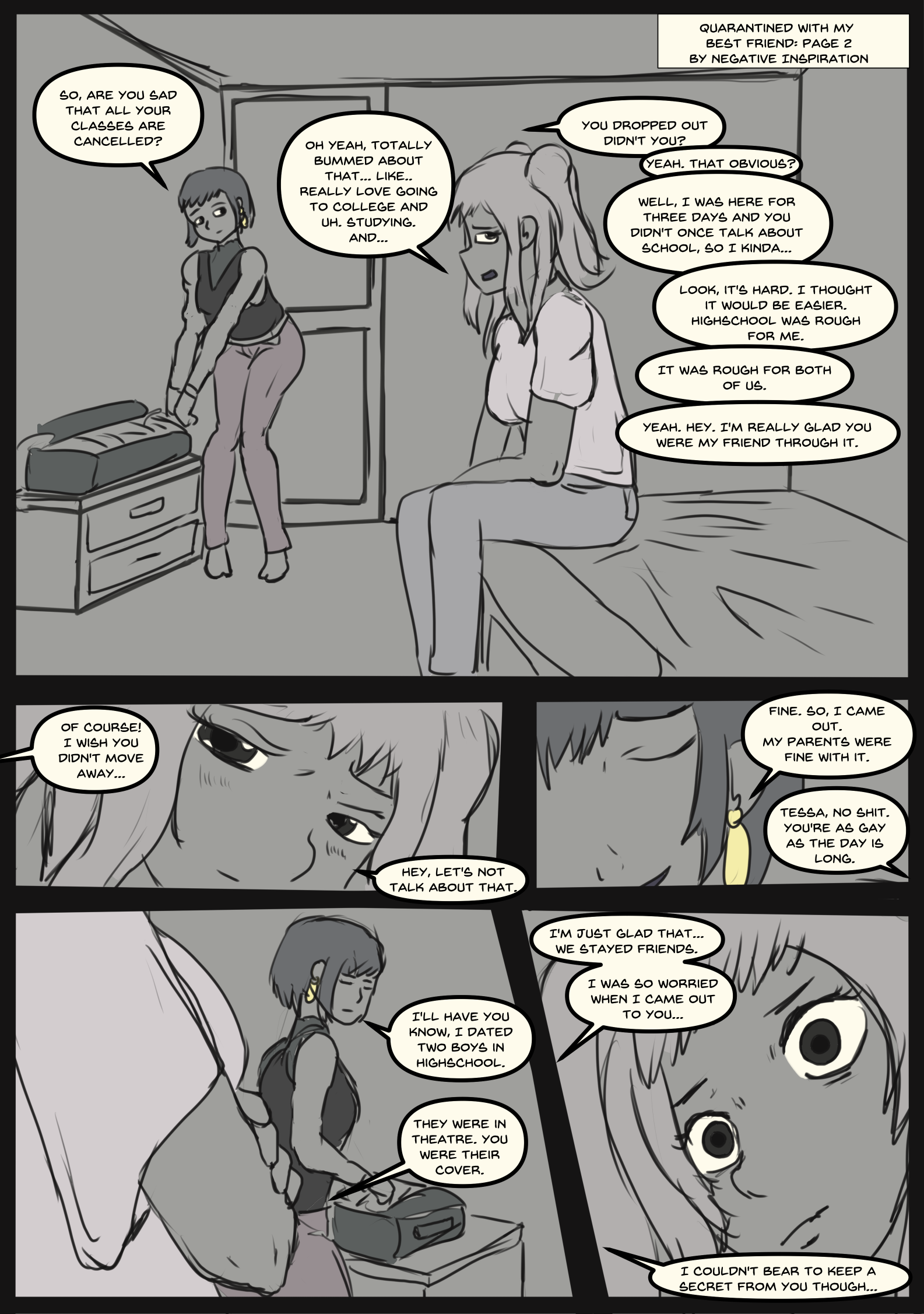 Quarantined with my Best Friend: Page 2