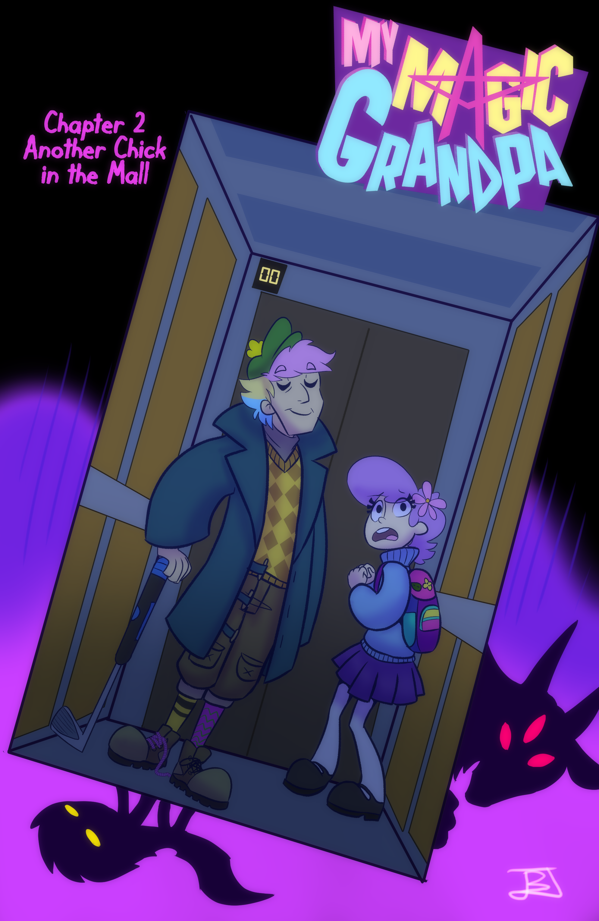 Ch 2: Another Chick in the Mall - COVER