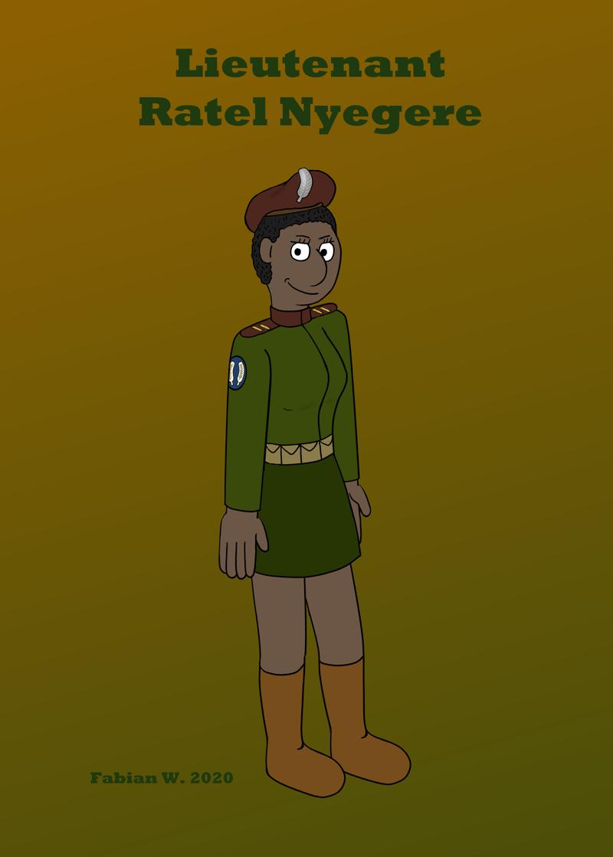 17 - Lieutenant Ratel Nyegere