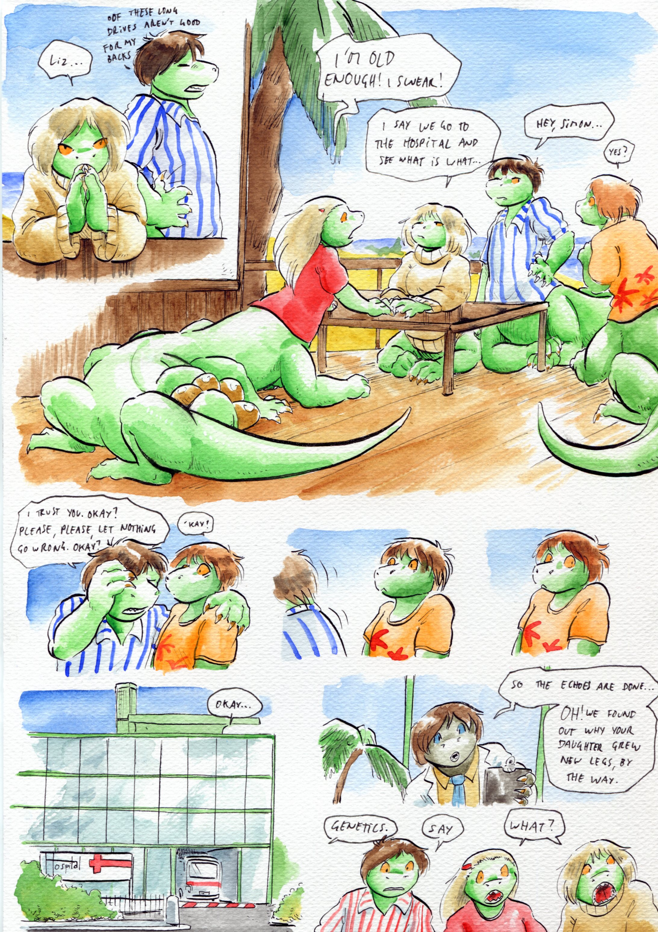 Growing Troubles 11
