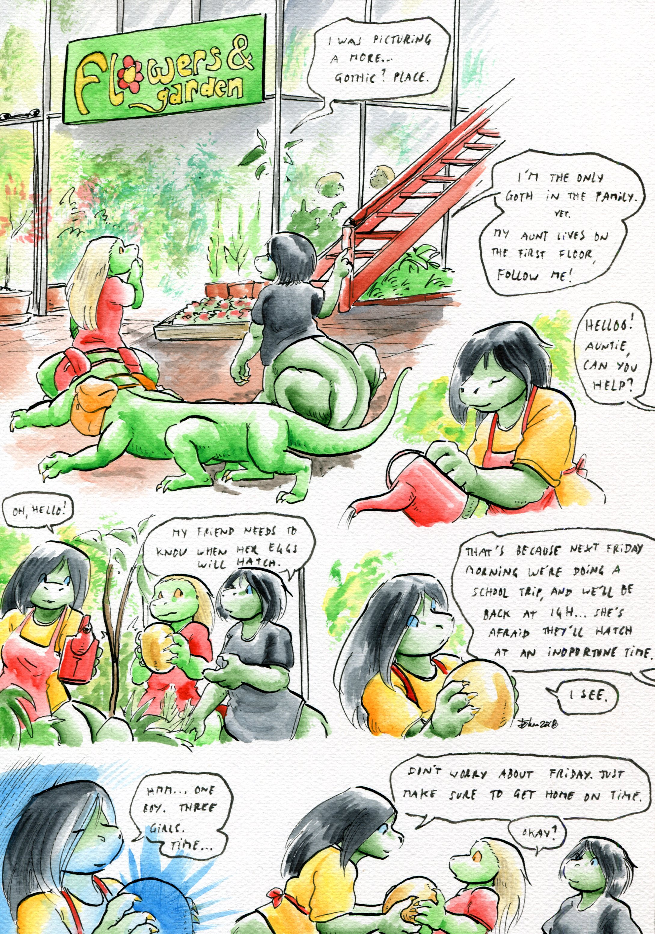Growing Troubles 22
