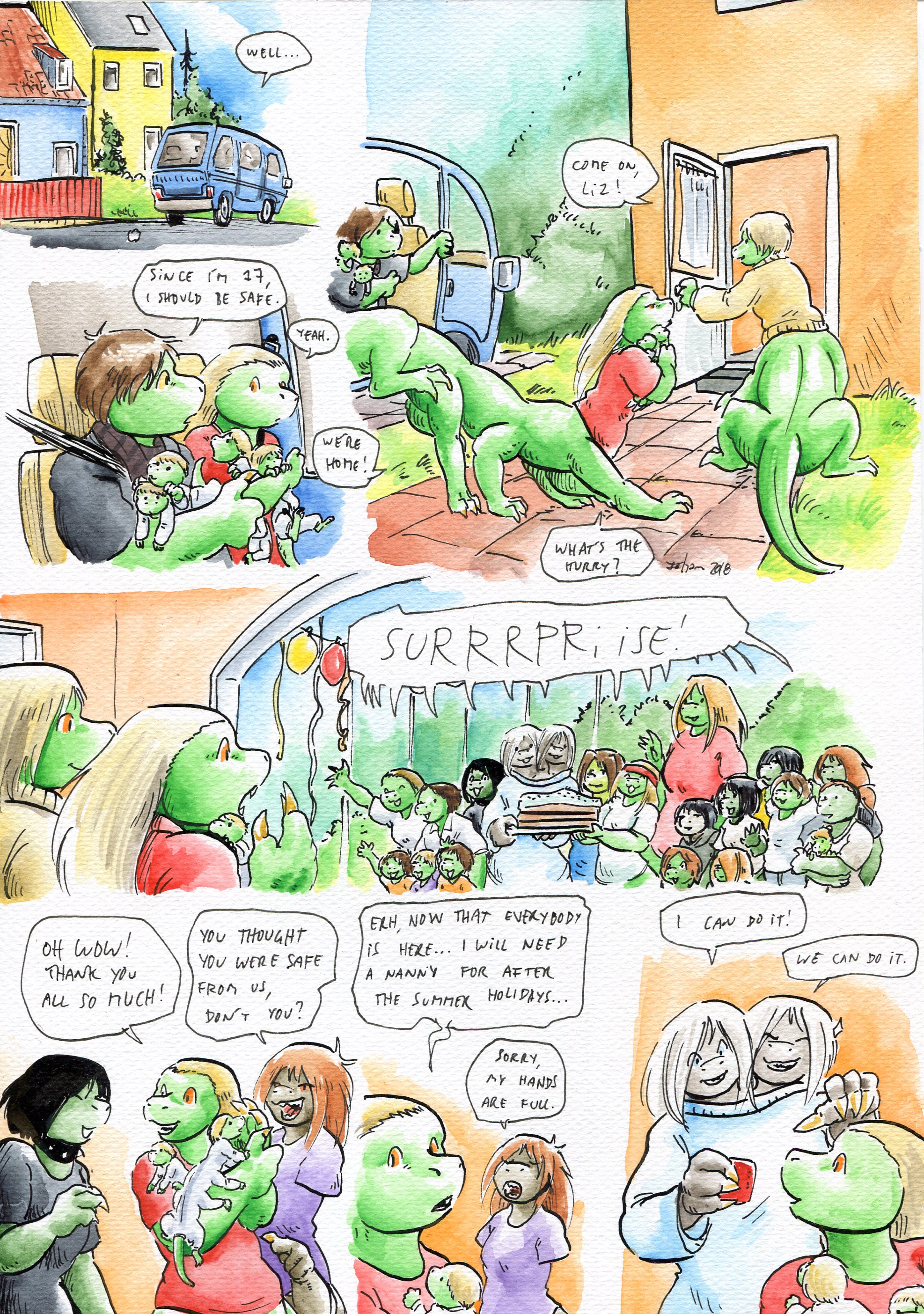 Growing Troubles 27