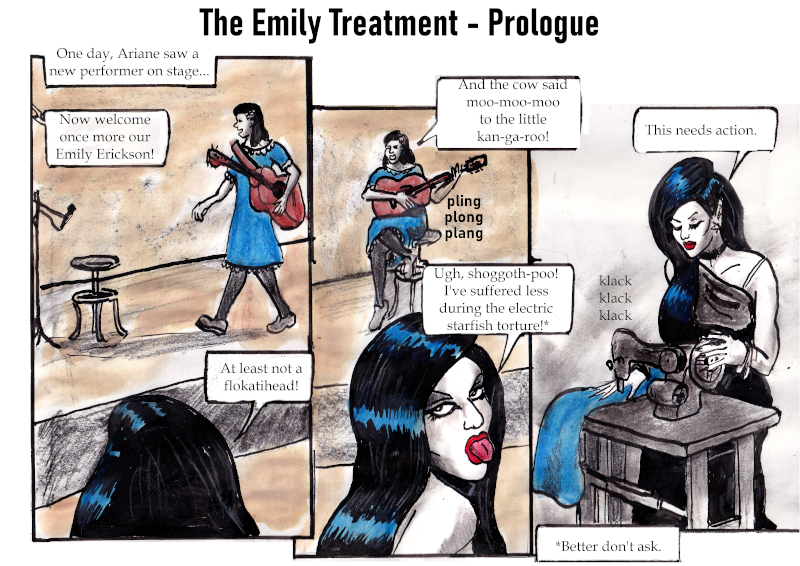 The Emily Treatment (Prologue & Page 1; by Stilldown)