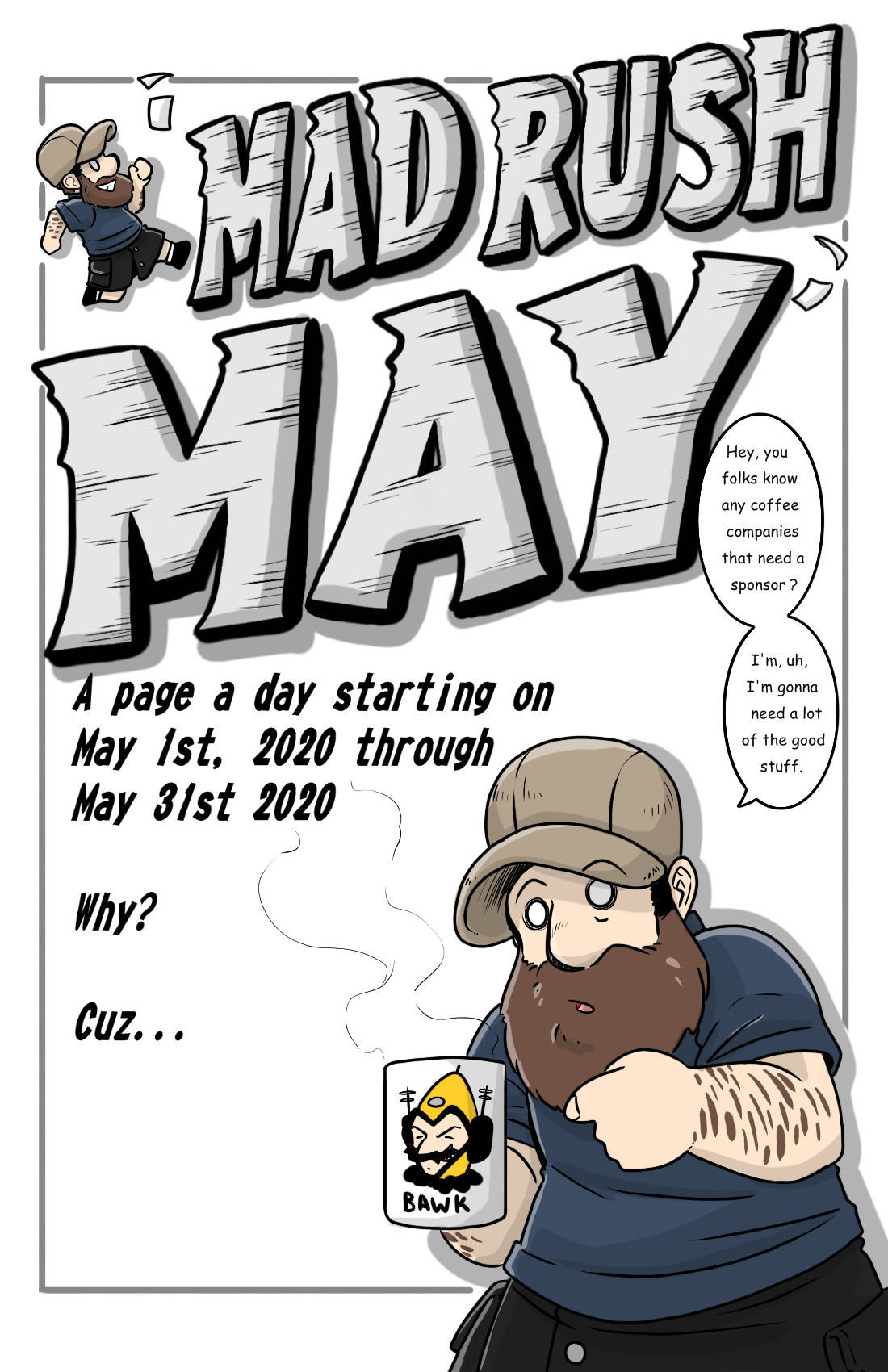 MAD RUSH MAY ANNOUNCEMENT