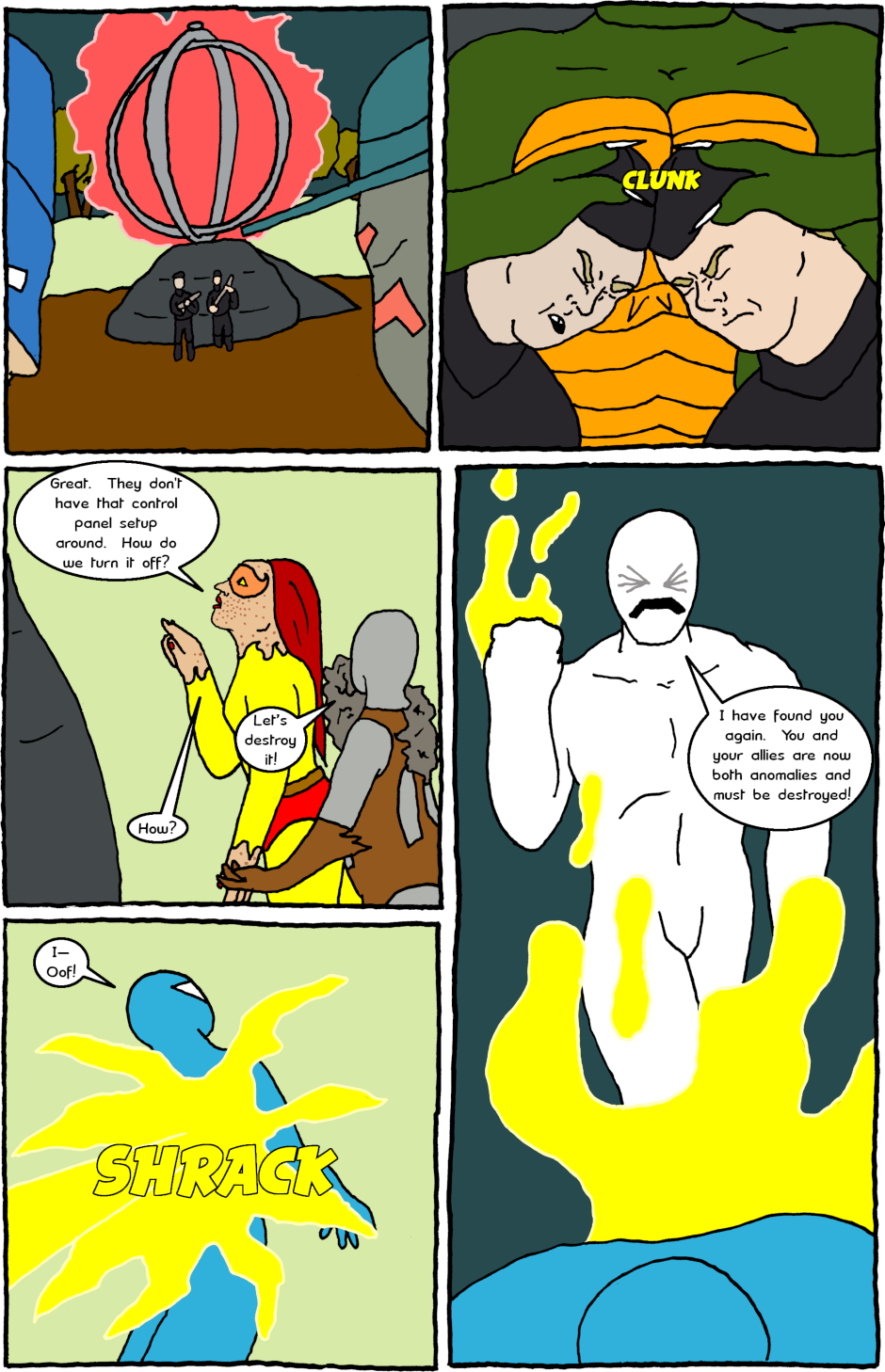 Page 4: issue 14 - Nasty Nazis and Tempestuous Tempore