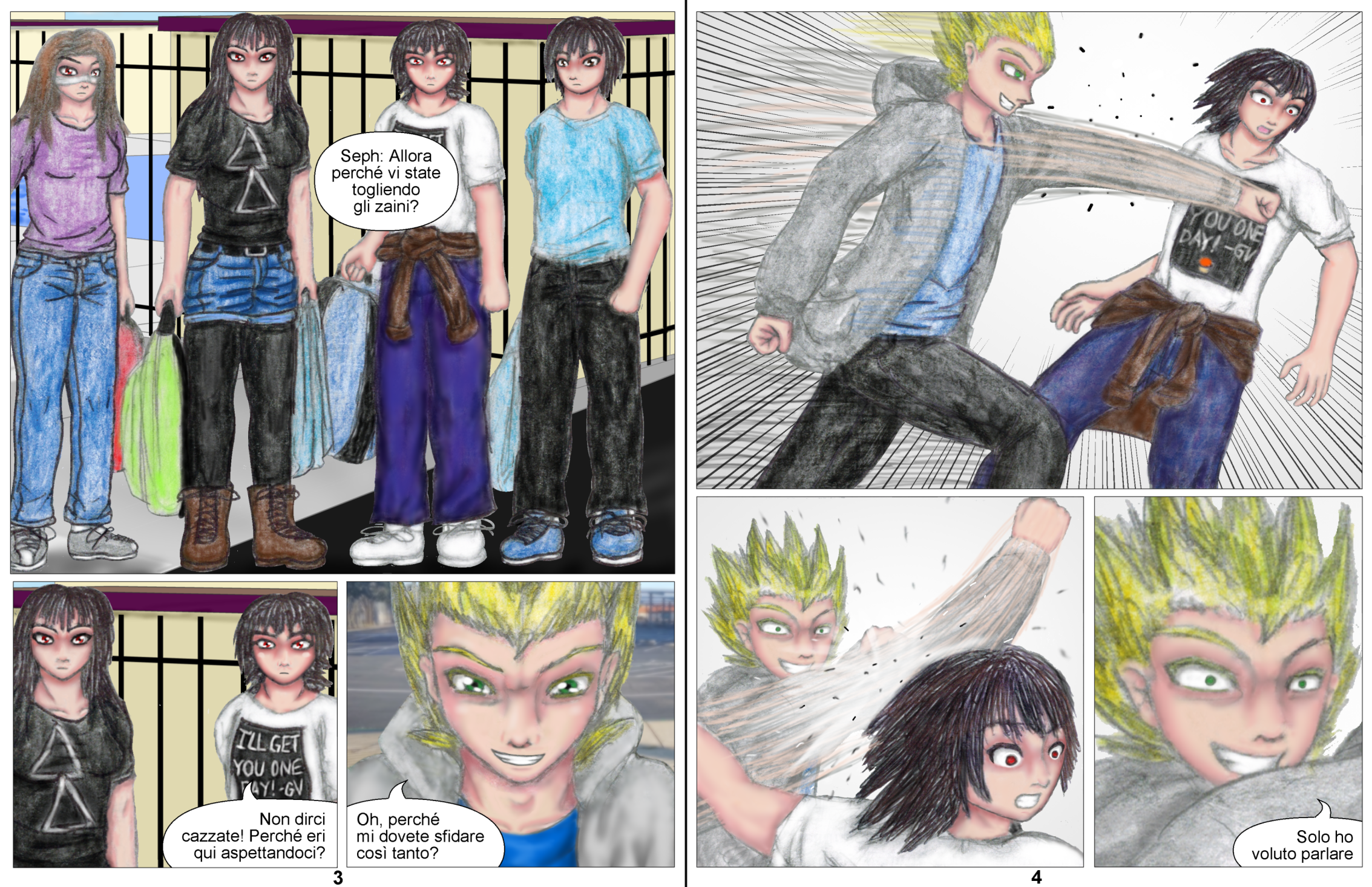 Demon Hunters Capitolo 5 Pagina 3-4