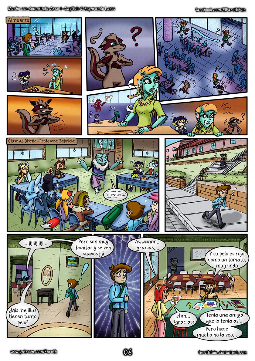 Cap 7 - Pag 6:  Evitando problemas