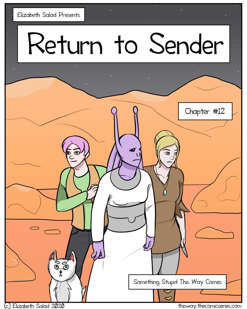 Return to Sender - COVER