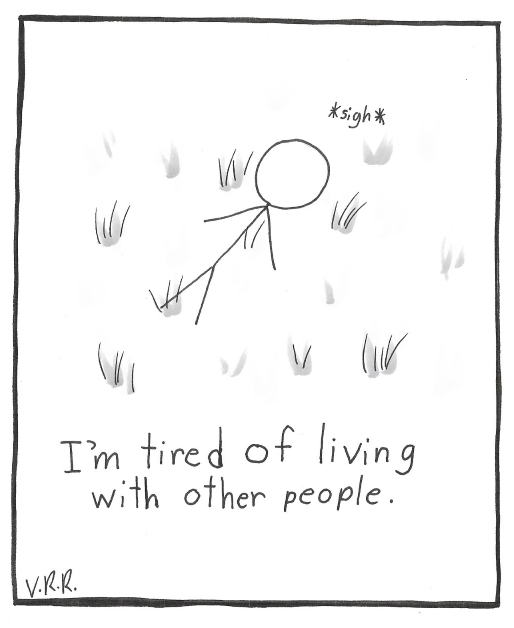 People Exhaust Me
