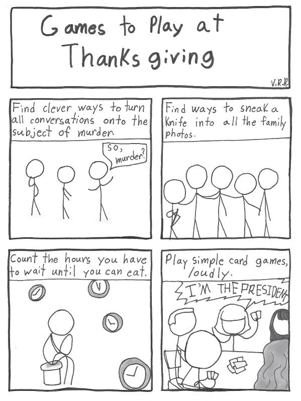 Things to Do at Thanksgiving