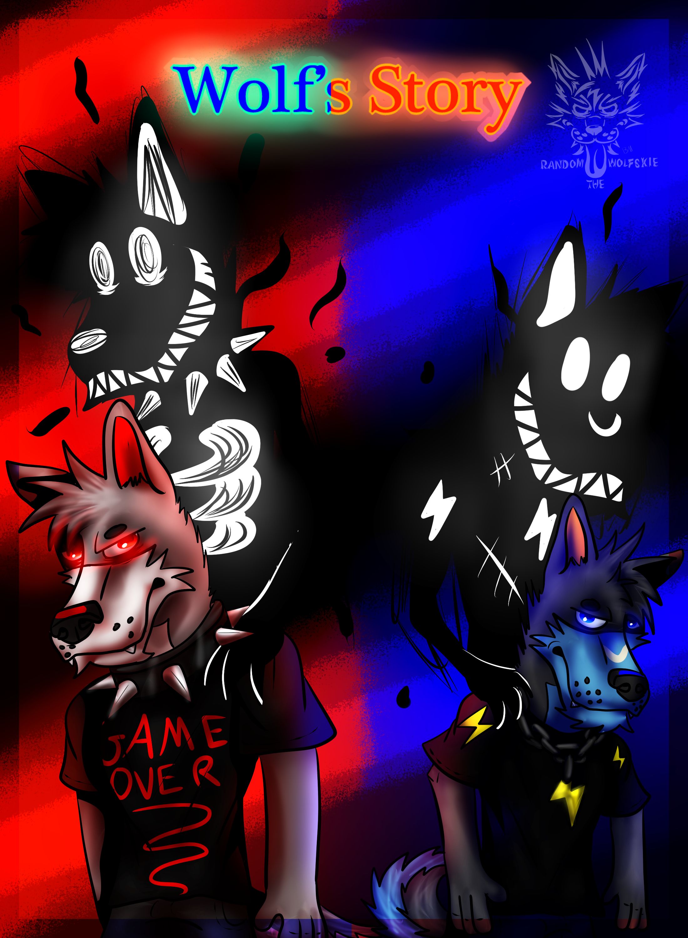 Wolf's Story Cover Page